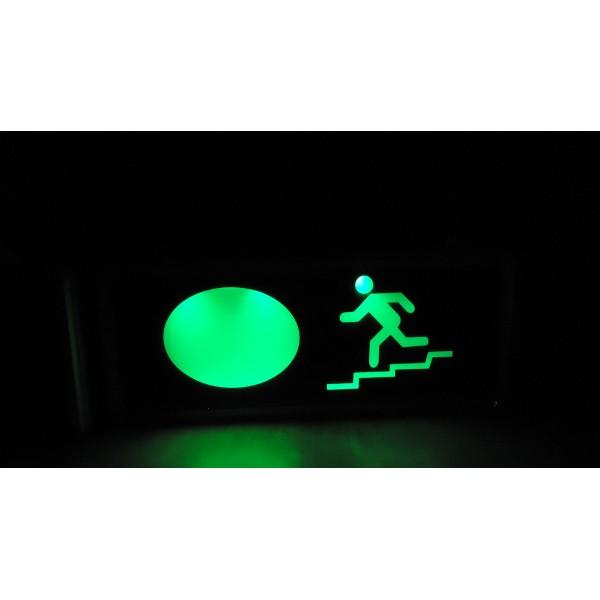 Lampa de urgenta cu Led si acumulator  Exit scari (LAMEXLEDSC) - www.lutek.ro