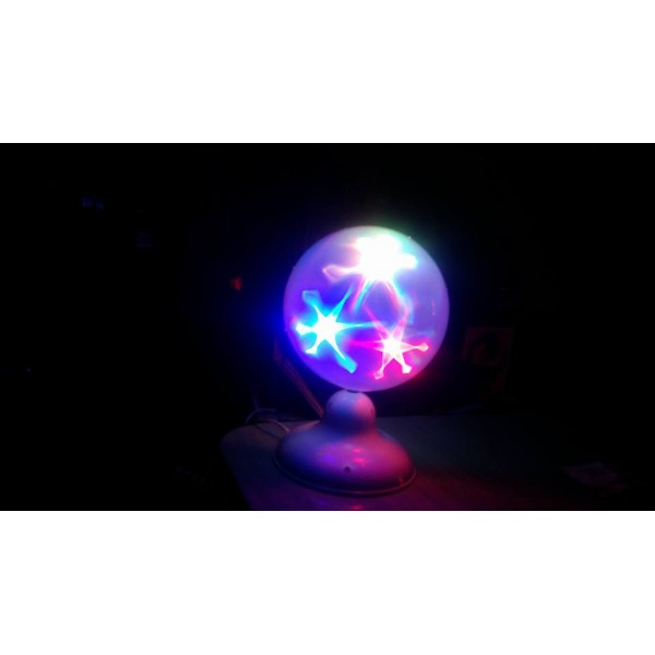 Glob disco decorativ (alb) - www.lutek.ro