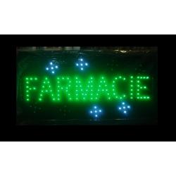 Reclama luminoasa led FARMACIE
