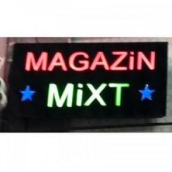 Reclama luminoasa Magazin Mixt