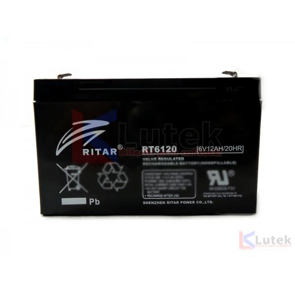 Acumulator 6V Globstar 12Ah (RT6120) - www.lutek.ro