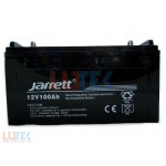 Acumulator 12V Jarrett (12V100AH) - www.lutek.ro