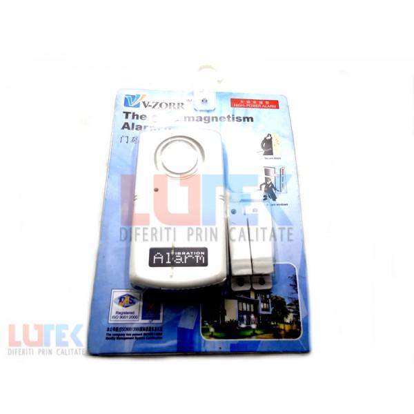 Alarma cu senzor magnetic pentru usa si fereastra (AL-ED-17) - www.lutek.ro