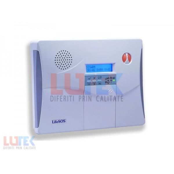 Alarma Wireless pentru imobile cu apelator GSM (LS-30) - www.lutek.ro
