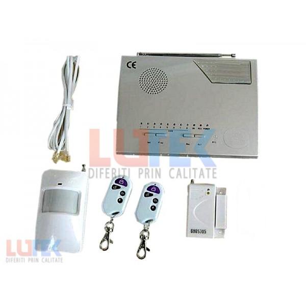 Alarma wireless pentru imobile (LT2001-A) - www.lutek.ro
