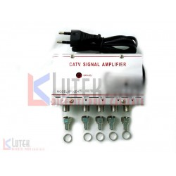 Amplificator semnal CATV 1 intrare 4 iesiri