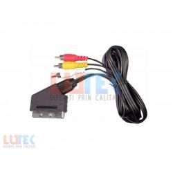 Cablu 4 RCA Scart