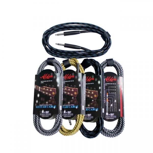 Cablu din panza pentru chitara (3m panza) - www.lutek.ro