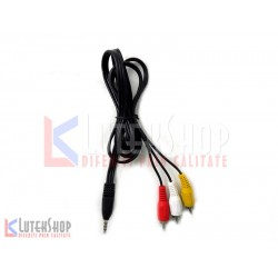 Cablu Jack 3 RCA mama 1.2 m