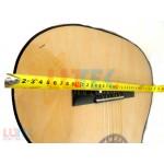 Chitara rosu bej 9 5 (LTK-CH03) - www.lutek.ro