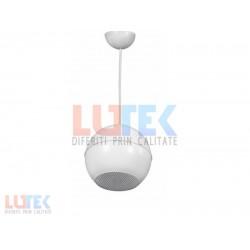 Difuzor sferic suspendat tip pendant 3W