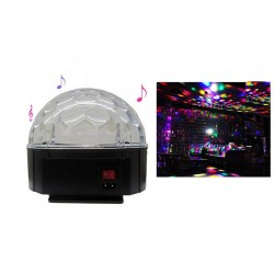 Disco ball luminos Led cu DMX