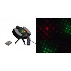 Laser cu card si telecomanda ideal pentru party