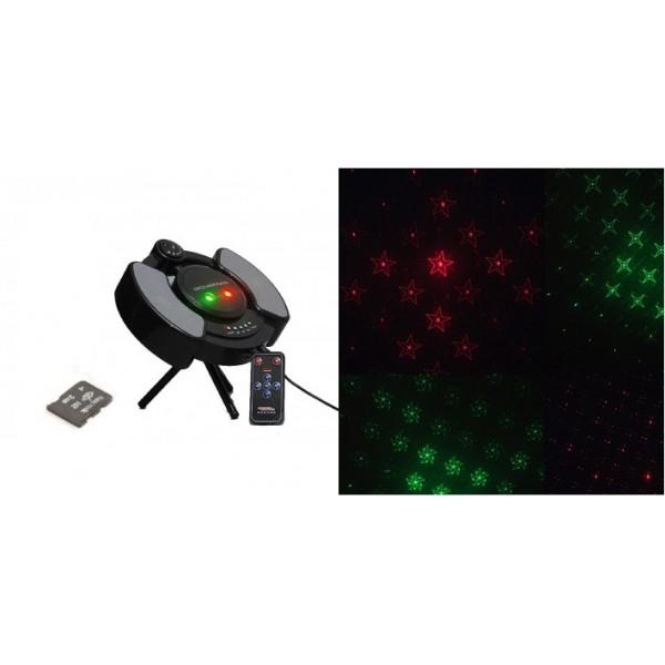 Laser cu card si telecomanda ideal pentru party (tf003) - www.lutek.ro