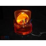 Girofar auto lumina portocalie 24V (GF2402) - www.lutek.ro