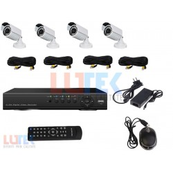 Kit DVR 4 Canale si 4 camere 950TVL