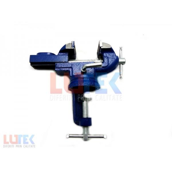 Mini menghina albastra din fonta, rotativa (LTK-MGFNT) - www.lutek.ro