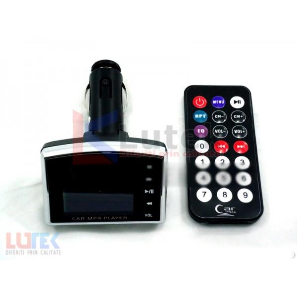 Modulator Auto FM MP3 MP4 Display LCD (MOD-MP) - www.lutek.ro
