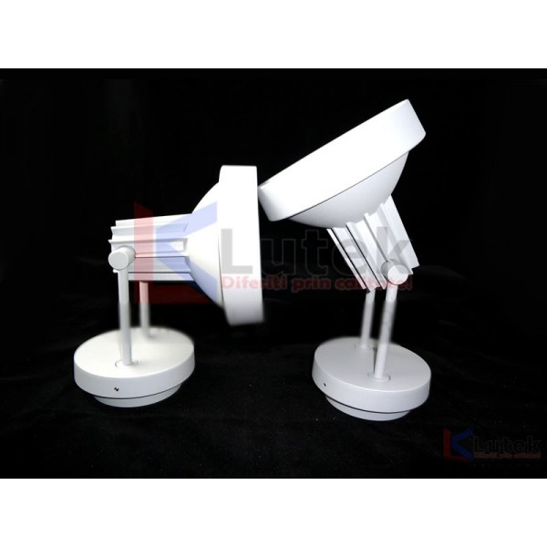 Proiector din aluminium cu bec halogen (GU10) - www.lutek.ro