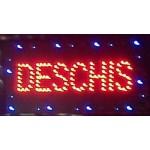 """Reclama luminoasa Led """"Deschis"""" cu animatie (LTK-DSPD) - www.lutek.ro"""