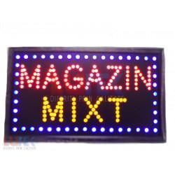 "Reclama luminoasa Led ""Magazin Mixt"" cu animatie"