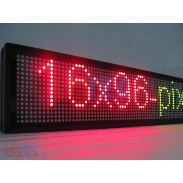 Reclama luminoasa Led programabila cu 3 culori de interior (LTK-DSPR02) - www.lutek.ro