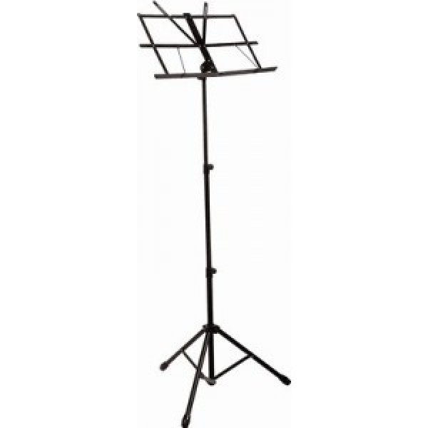 Statitv metalic pentru partituri (negru) - www.lutek.ro