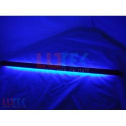 Tub neon fluorescent negru UV cu suport