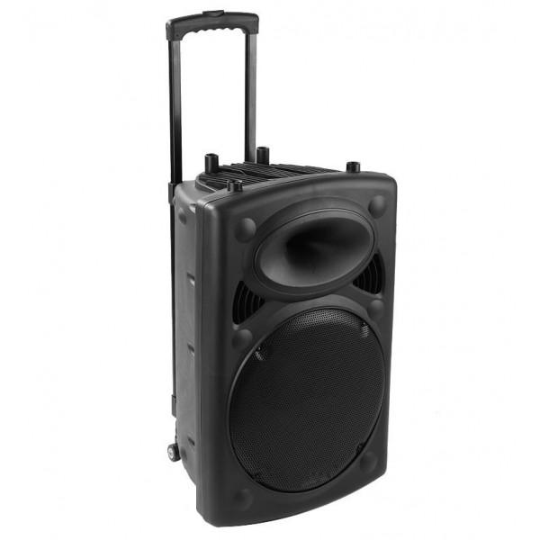 Boxa cu amplificator cu BT si microfon wireless 40W reali(BOXPORTAMP40W) - www.lutek.ro