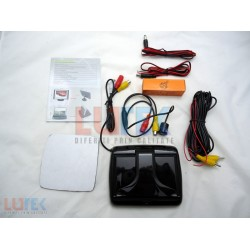 Kit monitor camera marsalier 4.3 inch