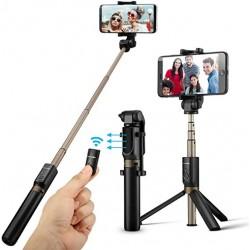 Selfie stick tripod cu telecomanda