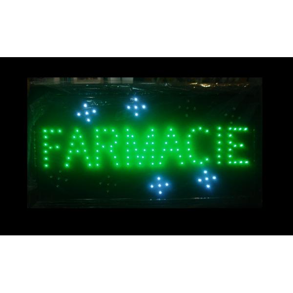 Reclama luminoasa led FARMACIE (farmacie) - www.lutek.ro