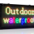 Reclama LED programabila 100 x 40 cm RGB