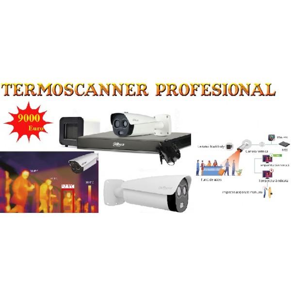 Termoscanner pentru detectarea temperaturii umane