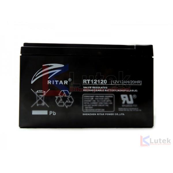 Acumulator etans 12 V 12Ah (12 V 12 Ah) - www.lutek.ro