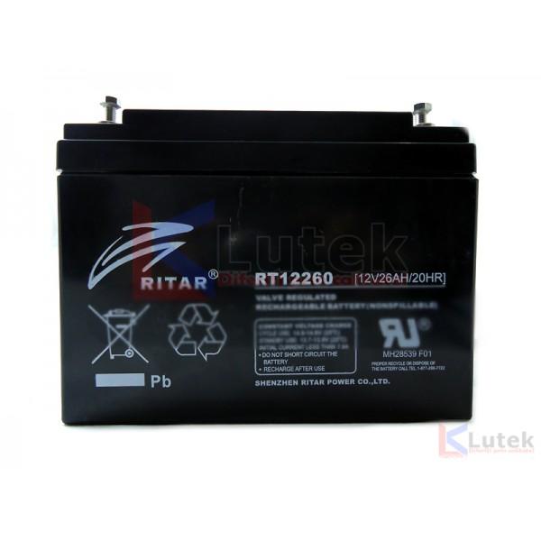 Acumulator 12V 26Ah (12 V 26 Ah) - www.lutek.ro