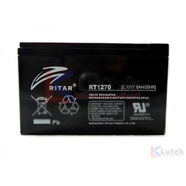 Acumulator 12V 7Ah (12V 7Ah) etans gel - www.lutek.ro
