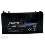 Acumulator solar 12V Jarrett (12V100AH) - www.lutek.ro