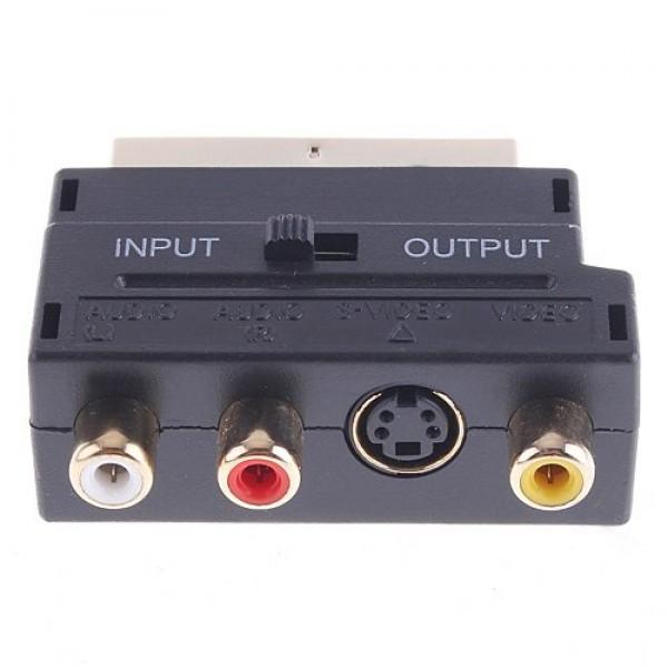 Adaptor Euroscart la 3RCA (AE3RCASVHS) - www.lutek.ro