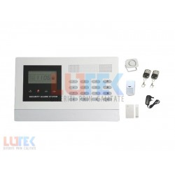 Alarma wireless LCD si apelare GSM
