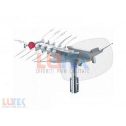 Antena TV rotativa cu amplificator