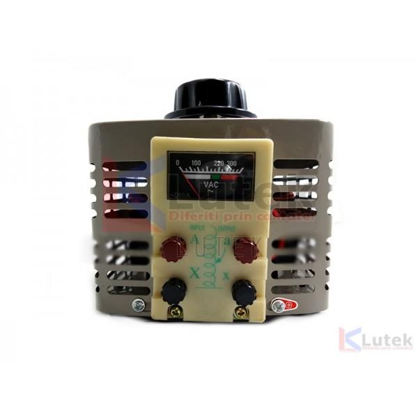 Autotransformator 1000 VA 0 - 280 V CA (LTK-AUTOTR) - www.lutek.ro