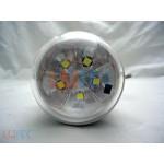 Bec led cu acumulator incarcare solara si telecomanda (GD-5007S) - www.lutek.ro