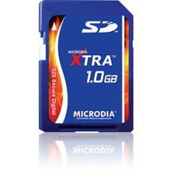 Card SD 52X Microdia Xtra 1GB