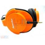 Casti monitor profesionale Superlux portocalii (HD661P) - www.lutek.ro