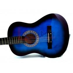 Chitara clasica albastra