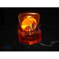 Girofar auto lumina portocalie 24V
