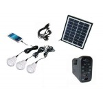 kIT solar cu lanterna si becuri (GD8007) - www.lutek.ro