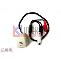 Microfon pentru camere de supraveghere