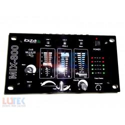 Mixer 4 canale Ibiza Sound